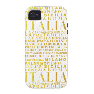 IV - ITALIA UNITA iPhone 4 COVERS