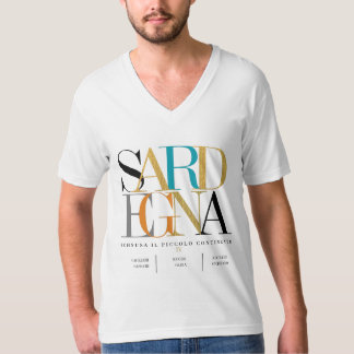 IV - SARDEGNA  - Ichnusa Il Piccolo Continente T-Shirt