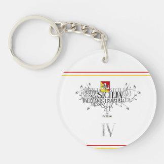 IV - SICILIA ( KEYCHAIN) KEY RING