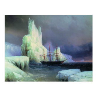 Ivan Aivazovsky- Icebergs in the Atlantic Postcard