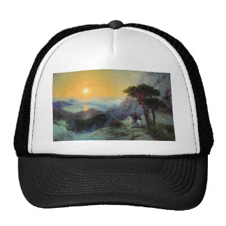 Ivan Aivazovsky- Pushkin at top ,Ai-Petri Mountain Hat