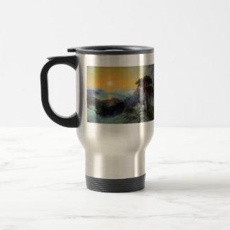 Ivan Aivazovsky- Pushkin at top ,Ai-Petri Mountain Mug