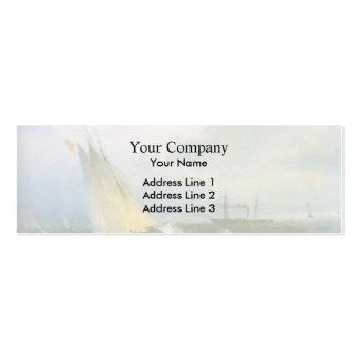 Ivan Aivazovsky- Seascape Business Card Template