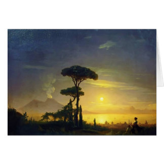 Ivan Aivazovsky- The Bay of Naples Card