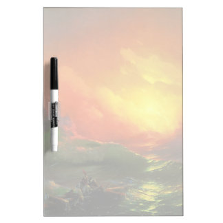 IVAN AIVAZOVSKY - The ninth wave 1850 Dry Erase Board