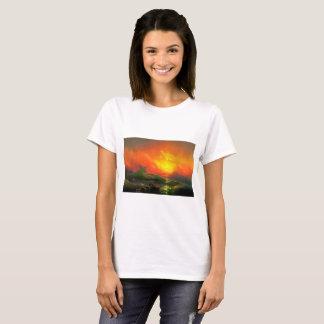 IVAN AIVAZOVSKY - The ninth wave 1850 T-Shirt