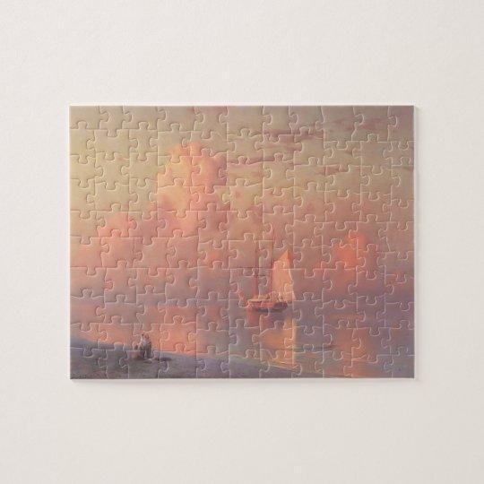 Ivan Aivazovsky- The sunset Jigsaw Puzzle