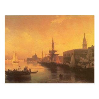 Ivan Aivazovsky- Venice Postcard