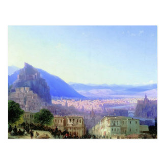Ivan Aivazovsky- View of Tiflis Postcard