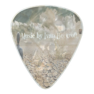 Ivan Beecroft/outcast Pearl Celluloid Guitar Pick