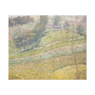 Ivan Grohar Pomlad (Spring) Canvas Print