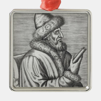 Ivan IV  the Terrible Metal Ornament
