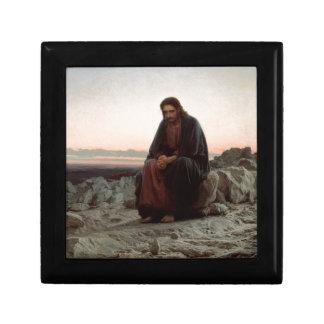 Ivan Kramskoy- Christ in the Wilderness - Fine Art Gift Box