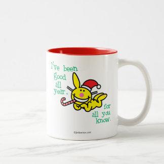 I've Been Good All Year Two-Tone Coffee Mug