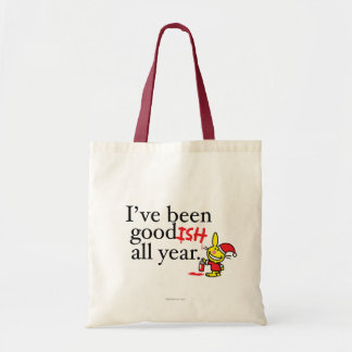 I've Been Goodish All Year Tote Bag