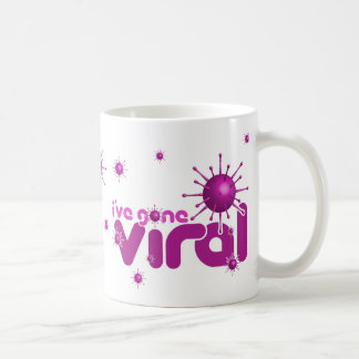 I've Gone Viral Mug - Magenta