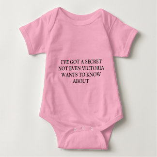 I've got a secret... baby bodysuit