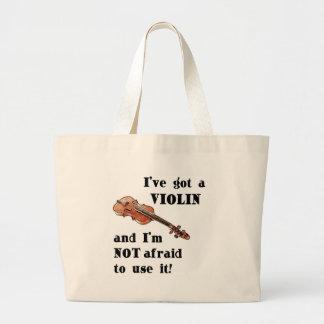 I've Got a Violin Jumbo Tote Bag