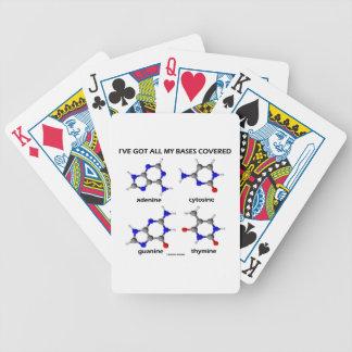 I've Got All My Bases Covered DNA Nucleotide Base Poker Deck
