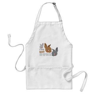 ive got buns (cute bunny rabbits) standard apron