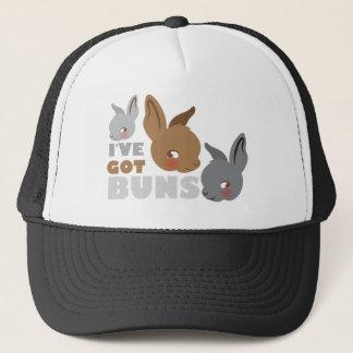 ive got buns (cute bunny rabbits) trucker hat