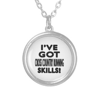 I've Got Cross Country Running Skills Necklace