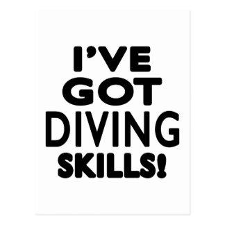 I've Got Diving Skills Postcard