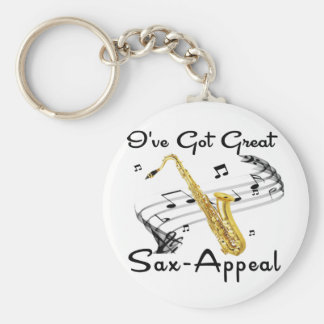 I've Got Great Sax-Appeal Key Ring