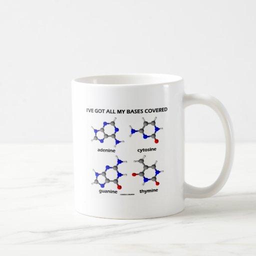 I've Got My Bases Covered (Chemistry DNA Bases) Mug