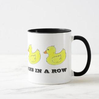 I've Got My Ducks in a Row Rubber Duck Duckies Mug