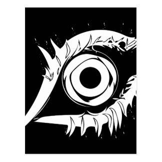 I've got my eye on you #1 postcard