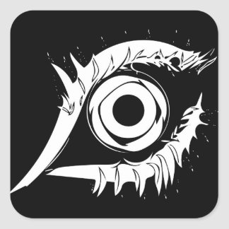 I've got my eye on you #1 square sticker