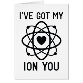 I've Got My Ion You Card