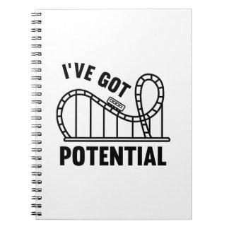 I've Got Potential Notebook