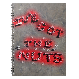 ive got the nuts notebook