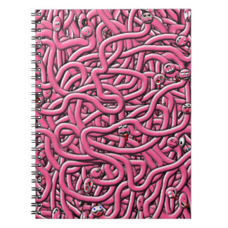 iv'e got worms notebooks