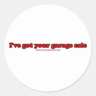 I've Got Your Garage Sale Stickers