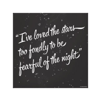 I've Loved The Stars Canvas Print