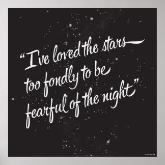 I've Loved The Stars Poster