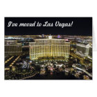 I've moved to Las Vegas Card