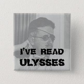 """I've Read Ulysses"" Button"