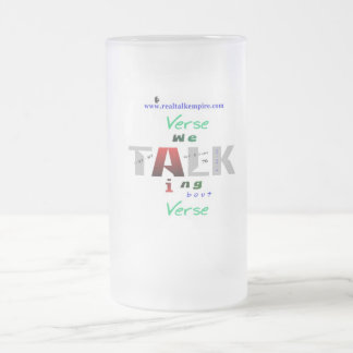 iverson - glass frosted glass mug