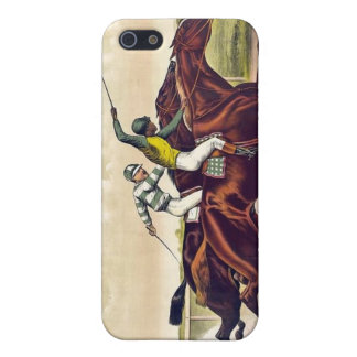 Ives -- Horse Racing iPhone Case