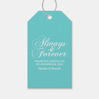 Ivory Always & Forever Wedding Gift Tags