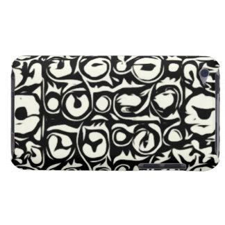 Ivory and Ebony Exotic Safari Geometric iPod Case-Mate Case