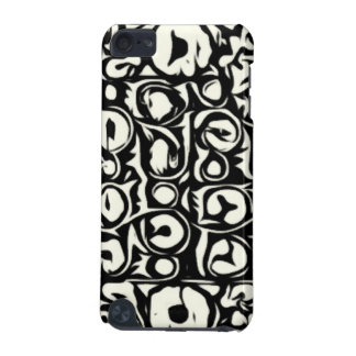 Ivory and Ebony Exotic Safari Geometric iPod Touch (5th Generation) Cover