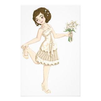 Ivory Bride Stationery Paper