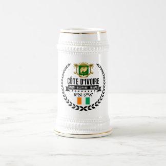 Ivory Coast Beer Stein