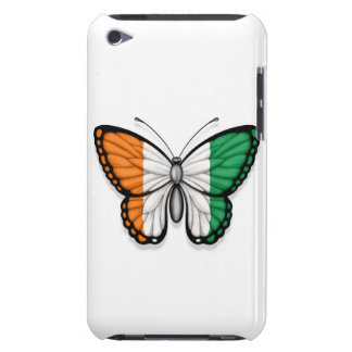 Ivory Coast Butterfly Flag Barely There iPod Cases