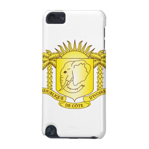 Ivory Coast Coat Of Arms iPod Touch 5G Cases